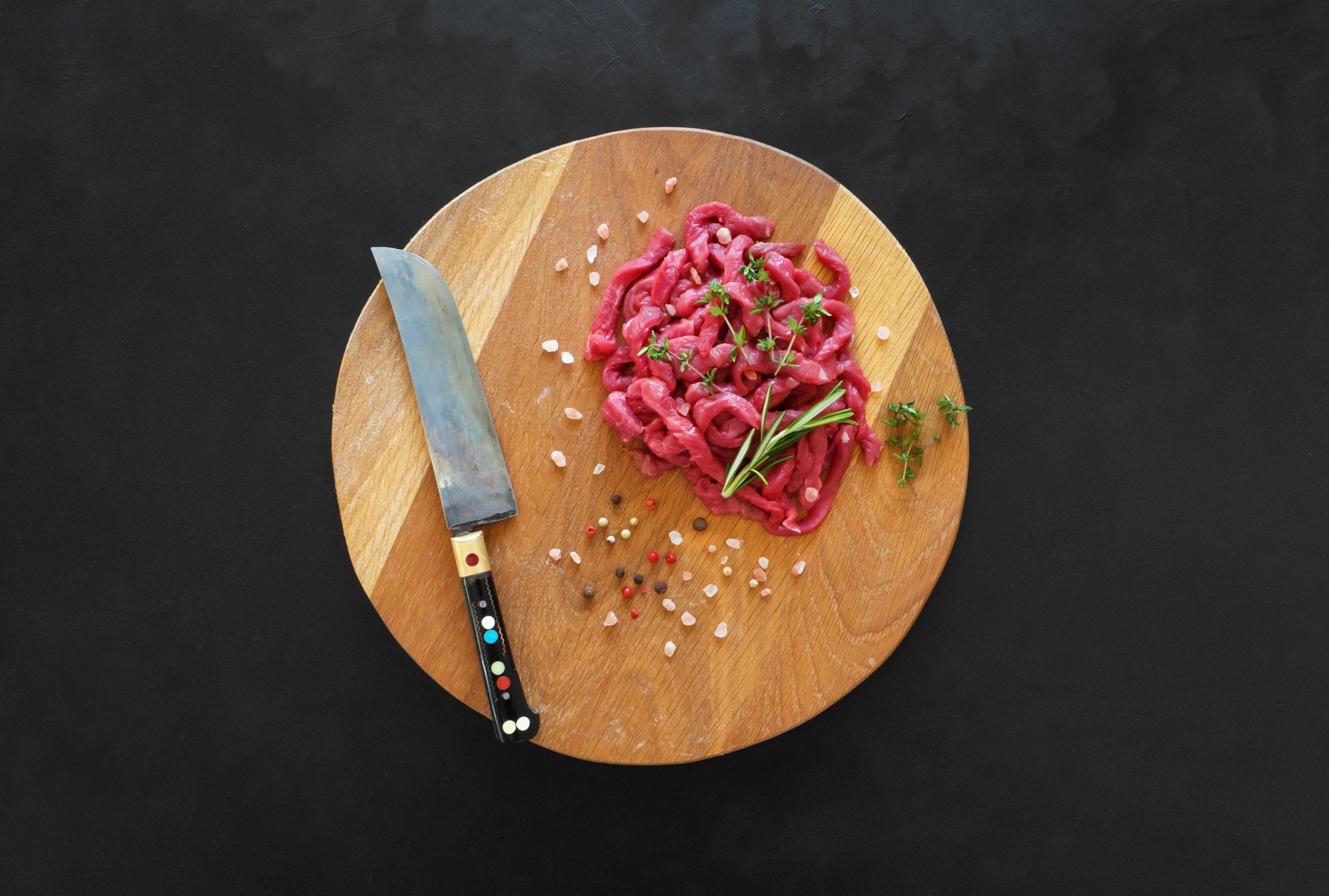 BEEF FILLET STRIPS – 1kg