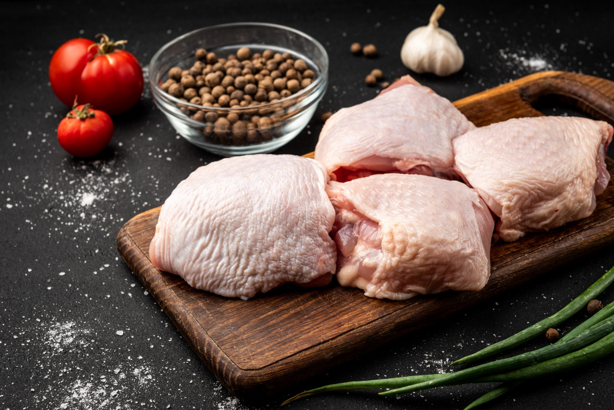 CHICKEN THIGHS – 600g