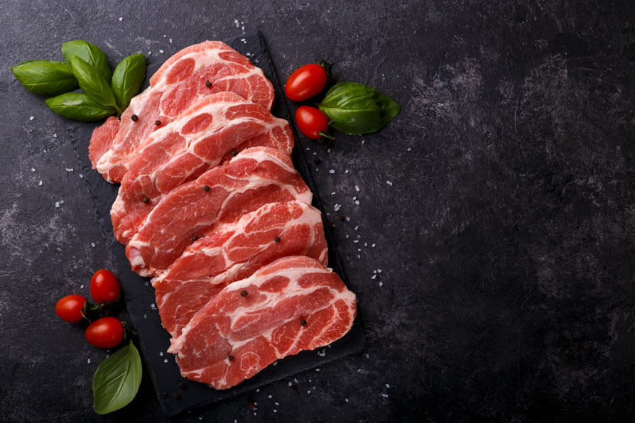 PORK NECK STEAKS – 1kg